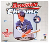 2013 Bowman Chrome Baseball Jumbo Box