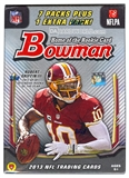 2013 Bowman Football 8-Pack Box