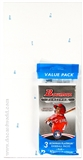 2013 Bowman Platinum Baseball Value Rack Pack Box