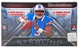 2013 Bowman Sterling Football Hobby 8-Box Case - DACW Live 28 Spot Random Team Break