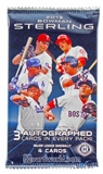 2013 Bowman Sterling Baseball Hobby Pack