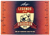 2013 Leaf Legends of the Gridiron Football Hobby Box