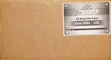 2013 Leaf Just Vault Baseball Hobby 12-Box Case