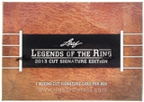 2013 Leaf Legends of the Ring Boxing Hobby Box