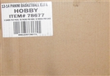 2013/14 Panini Elite Basketball Hobby 12-Box Case