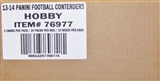 2013 Panini Contenders Football Hobby 12-Box Case