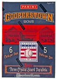 2013 Panini Cooperstown Baseball 5-Pack Box (Three Crystal Shard Parallels Per Box)!