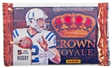 2013 Panini Crown Royale Football Hobby Pack