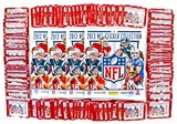 2013 Panini NFL Football Sticker Closeout Lot (4 Albums & 100 Packs = 2 Boxes!)
