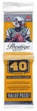 2013 Panini Prestige Football Retail Rack Pack