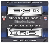 2013 Panini Rookies & Stars Football 24-Pack Box (One Autograph or Memorabilia Card Per Box)!