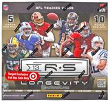 2013 Panini Rookies & Stars Longevity Football Box (4 Autos or Mem per Box!)