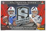 2013 Panini Spectra Football Hobby 8-Box Case- DACW Live 32 Spot Random Team Break #3