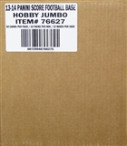 2013 Score Football Jumbo 12-Box Case