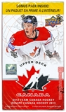 2013-14 Upper Deck Team Canada Hockey Blaster Box