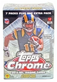 2013 Topps Chrome Football 8-Pack Box (1 Rookie Card Per Pack!)