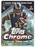 2013 Topps Chrome Football 8-Pack Box
