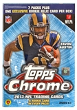 2013 Topps Chrome Football 8-Pack Box (1 Exclusive Rookie Relic Card Per Box!)