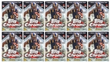 2013 Topps Chrome Football 8-Pack Box (Lot of 10)