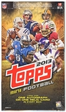 2013 Topps Mini Cards Football Hobby Box