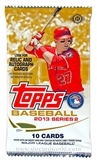 2013 Topps Series 2 Baseball Hobby Pack