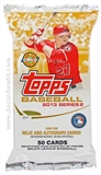 2013 Topps Series 2 Baseball Jumbo Pack