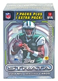 2013 Topps Strata Football 8-Pack Box