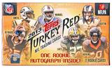2013 Topps Turkey Red Football Box (Find One Autograph and One Mini Parallel Per Box)!
