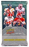 2013 Upper Deck Football Hobby Pack