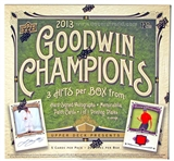 2013 Upper Deck Goodwin Champions Hobby Box
