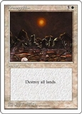 Magic the Gathering 4th Edition Single Armageddon UNPLAYED (NM/MT)
