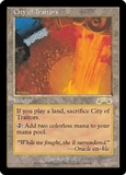 Magic the Gathering Exodus Single City of Traitors - MODERATE PLAY (MP)