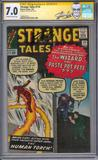 Strange Tales #110 CGC 7.0 Stan Lee Signature Series (OW-W) *1408837010*