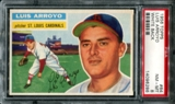 1956 Topps Baseball #64 Luis Arroyo PSA 8 (NM-MT) *6286