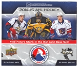 2014/15 Upper Deck AHL Hockey Hobby Box