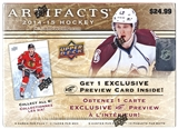 2014/15 Upper Deck Artifacts Hockey 10-Pack Box (Lot of 10)
