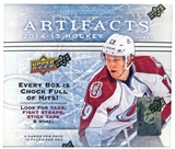 2014/15 Upper Deck Artifacts Hockey Hobby 16-Box Case - DACW Live 30 Team Random Break #2