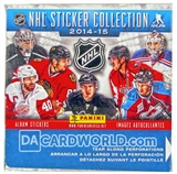 2014/15 Panini NHL Hockey Sticker Box