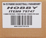 2014/15 Panini Paramount Basketball Hobby 5-Box Case
