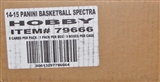 2014/15 Panini Spectra Basketball Hobby 5-Box Case