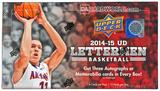 2014/15 Upper Deck Lettermen Basketball Hobby 12-Box Case - DACW Live @ National  30 Team Random Break