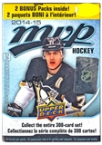 2014/15 Upper Deck MVP Hockey 12-Pack Box