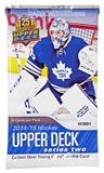 2014/15 Upper Deck Series 2 Hockey Hobby Pack