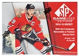 2014/15 Upper Deck SP Game Used Hockey Hobby 20-Box Case- DACW Live at National 30 Spot Random Team Break #1