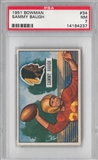 1951 Bowman Football Sammy Baugh PSA 7 (NM) *4237