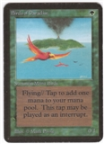 Magic the Gathering Alpha Single Birds of Paradise - SLIGHT PLAY (SP)