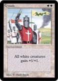Magic the Gathering Alpha Single Crusade - SLIGHT PLAY (SP)