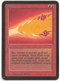 Magic the Gathering Alpha Single Fork - SLIGHT PLAY (SP)