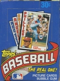 1984 Topps Baseball Wax Box