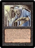 Magic the Gathering Alpha Single Lich UNPLAYED (NM/MT)